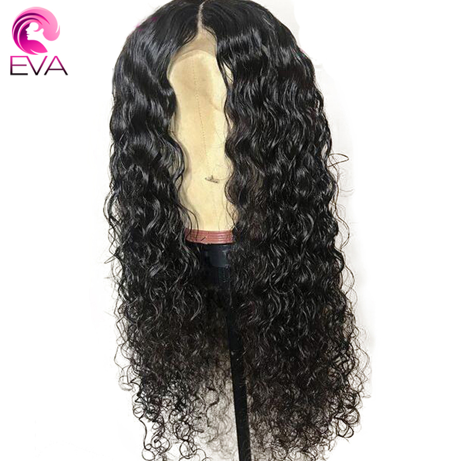 Lace Front Human Hair Wigs Pre Plucked Hairline Curly Brazilian Remy Hair Lace Front Wig ...