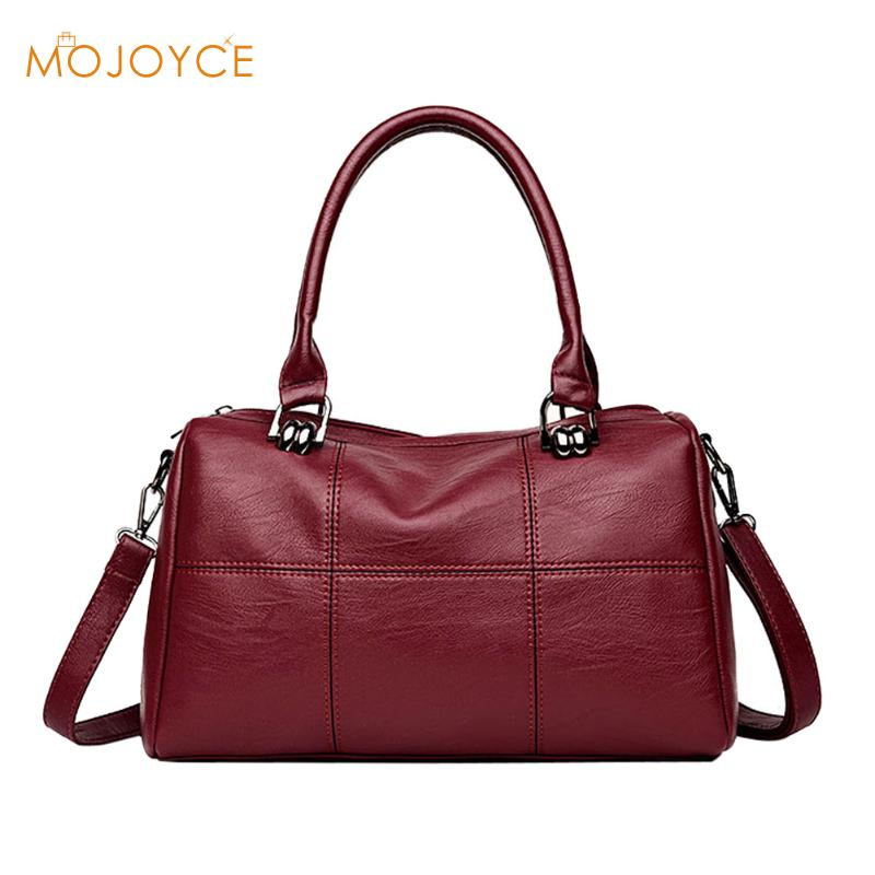 Solid Women Pillow Handbag Fashion Soft PU Leather Women Top-Handle Bag Tote Shoulder Bag Small Crossbody Messenger Bags 2018 20 179 панно настенное маска албезия о ломбок 100см 952206
