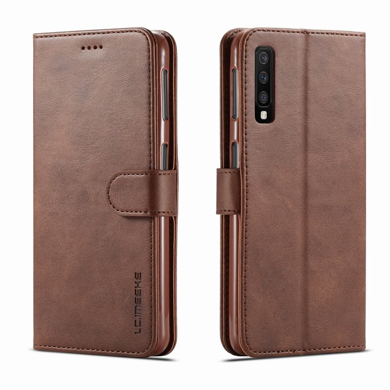 Case For Samsung Galaxy A50 Case Cover Flip Leather Wallet Book Cover Vintage Magnetic Protector Funda For Samsung A50 A 50 EtuiCase For Samsung Galaxy A50 Case Cover Flip Leather Wallet Book Cover Vintage Magnetic Protector Funda For Samsung A50 A 50 Etui