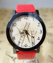 holiday gift good quality fashion quartz watch women children cartoon leather wristwatch F872Q1