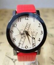 holiday gift good quality fashion quartz watch women children cartoon leather wristwatch F872Q1