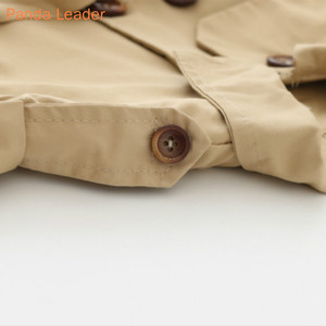 Image 4 - ベビージャケットcasaco infantilガールベビーコート2019春ベビーjasトレンチダブルブレストウインドブレーカー子供のためのジャケットのための1 4t