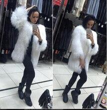 European Celebrities Syle women Fur coats Luxury Fluffy Genuine mongolian Lamb Fur jacket Winter real sheep fur coats luxury