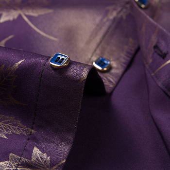 2020 New Social Long Sleeve Maple Leaf Designer Shirts   3