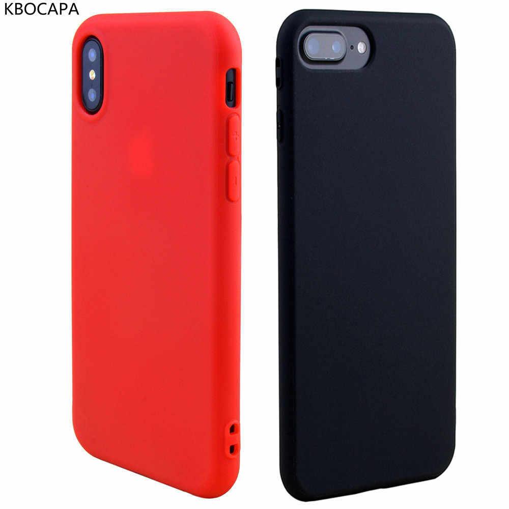 44915f024a5 ... Funda para iPhone 8 plus vino rojo verde oscuro teléfono móvil funda  trasera para Apple iPhone ...