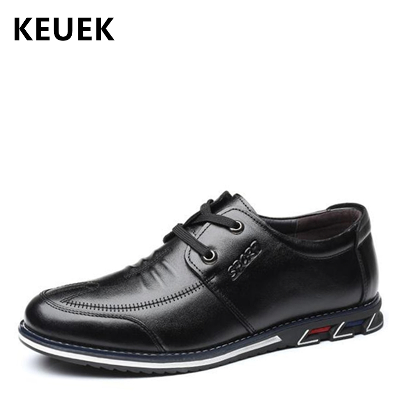 Hommes Noir D'affaires 02a Doux Mocassins slip Chaussures Homme Black Véritable Appartements Occasionnels Confortable slip Automne marron Brown on Baskets on En Printemps Cuir PZXTukwiO