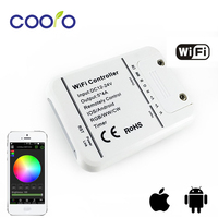 DC7 5 24V 4A 5CH 5CH RGB WW CW LED WIFI Controller IOS Android Smart Link