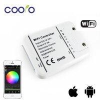 DC12-24V 4A * 5CH RGB/WW/CW DOPROWADZIŁY Sterownik WIFI IOS Android Smart Link Timer sterowania Muzyką rgb kontroler, darmowa wysyłka