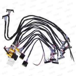 Image 5 - T V18 LED LCD מסך בודק זיהוי כלי עבור טלוויזיה מחשב נייד מחשב תיקון תמיכה 7 84 סנטימטרים + V29V56V59 LCD טלוויזיה בקר