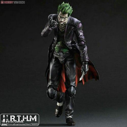 Square Enix BATMAN ARKHAM ORIGINS PLAY ARTS Kai Joker Action Figure neca dc comics batman arkham origins super hero 1 4 scale action figure
