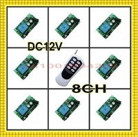 DC12V Remote Control Switches System LED Light Lamp Spotlight 12V Power Remote Control ON OFF 315/433MHZ Learning Code M4/T4/L4