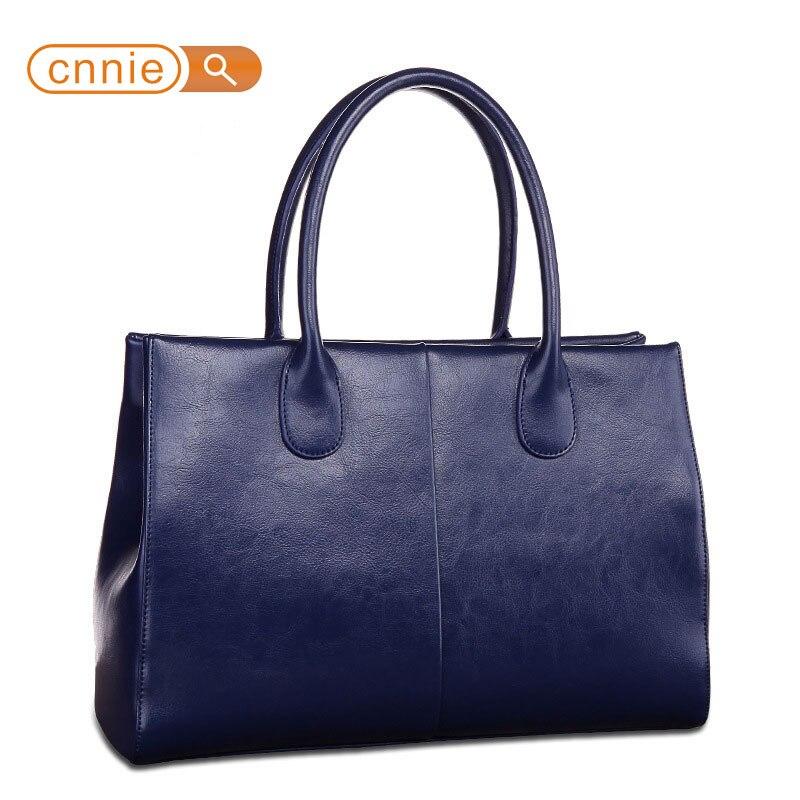 Real Genuine Leather Bags Women Split Leather Shoulder Bag Fashion Ladies Brief  Cowhide Handbags Female Brand Tote