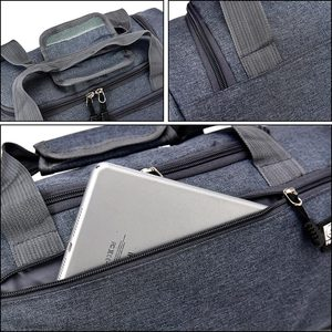 Image 5 - กระเป๋าเดินทางผู้ชาย Duffle Solid Crossbody กระเป๋า Unisex แบบพกพาไนลอนกระเป๋าถือขนาดใหญ่หลากสีสำหรับชาย XA268WC