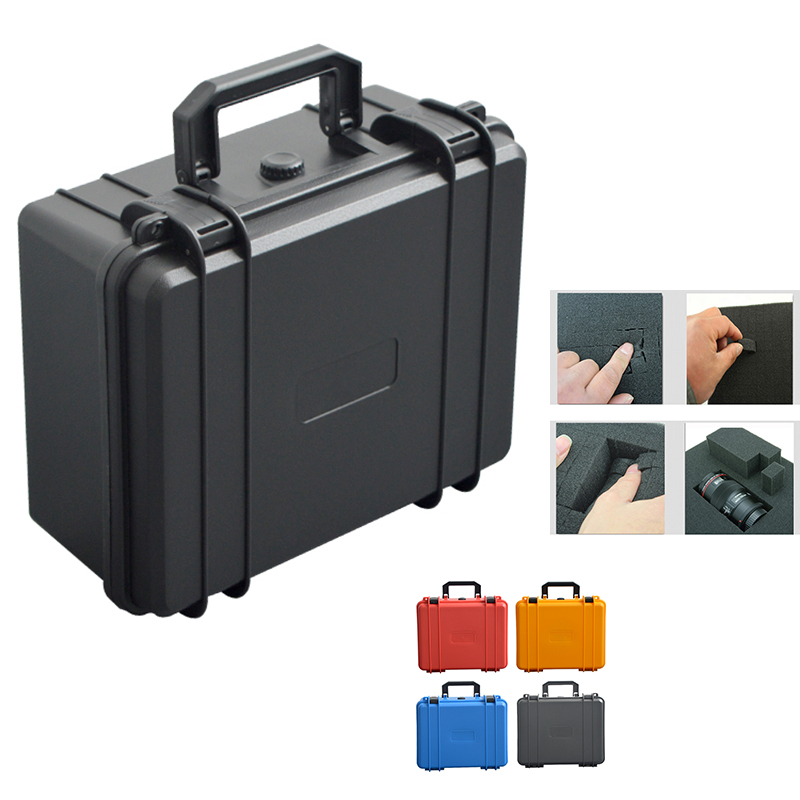 New Toolbox Protective Safety Tool Box Equipment Instrument Camera Box Shockproof Sealed Plastic Storage Tool Case With Logo