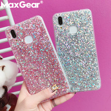 Crystal Sequins Bling Glitter Phone Case For Huawei Honor 8 9 10 V10 8X Mate 20 Nova 2 2S 3 3i Lite Pro Plus Y6 Y9 2018 Cover(China)