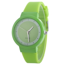 FUNIQUE Simple Jelly Watches Men Women Pure Color Silicone Casual Sport Quartz Hand Clock Fashion Minimalist Watch