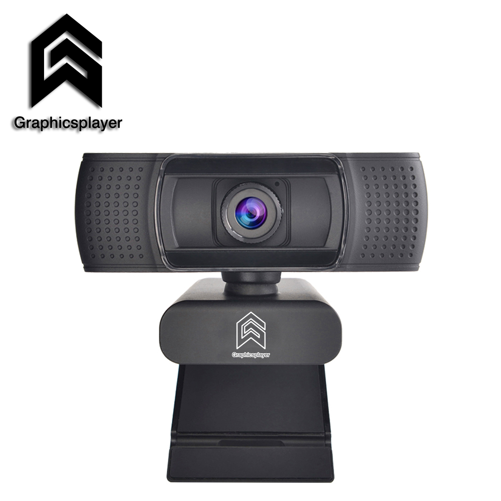 Webcam 1080P HDWeb Camera with Built in HD Microphone 1920 x 1080p USB Plug Web Cam