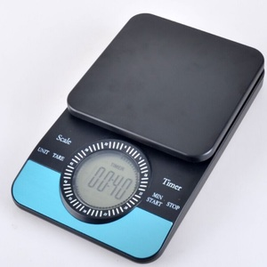 Image 2 - FeiC 2019 new arrival Coffee Drip Scale/Timer Digital Kitchen Scale 3000g/0.1g Count down available Baking cooking for barista