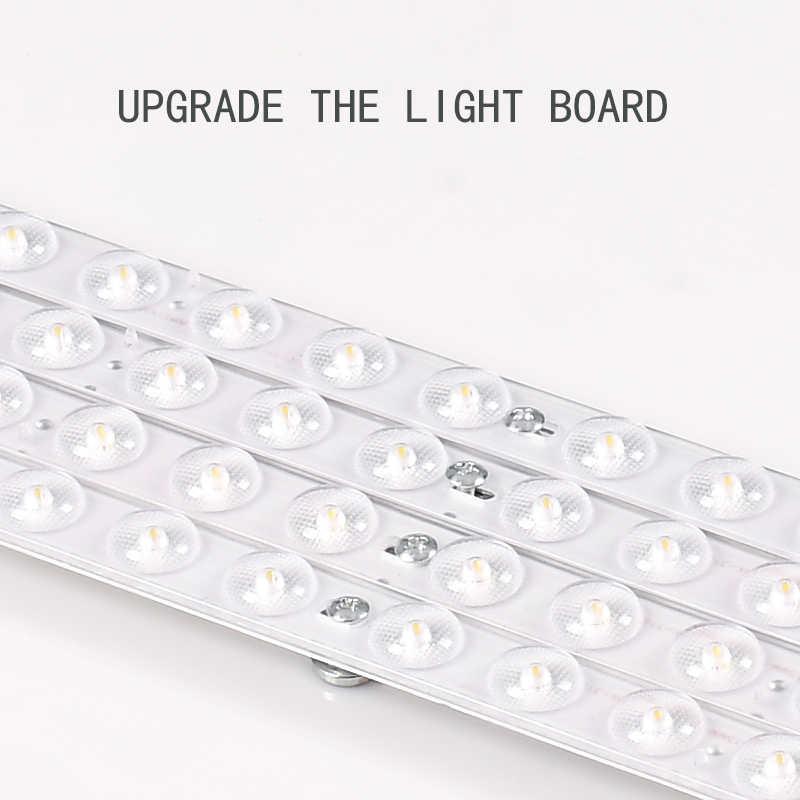 3 قطاع LED مصباح عدسات واسعة النطاق قطاع ثلاثة اللون عالية السطوع السقف مصباح AC220V مصباح النواة التصحيح حامل مصباح مع قرص طاقة