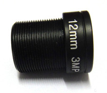 HD 1/2.5″ 3mp 12mm 30 Degrees Angle IR Board CCTV Lens M12 MTV for Security IP Camera