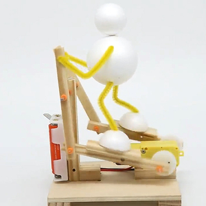 DIY Wooden Electric Science Tr