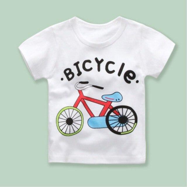 New 2018 Boys & Girls T-shirts Pop Heroes Cotton Short-sleeved T-shirts Printing Children's cartoons Gray Children's clothing 1