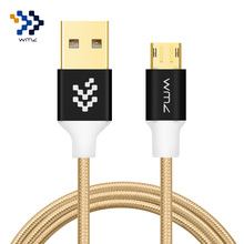 WMZ Reversible Micro USB Cable 2A Charge Data Cables Charging Charger For Samsung S7 S6 Xiaomi 4 LG V10