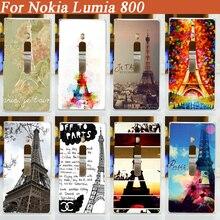 9 новые классные шаблон мобильного телефона чехол для Nokia Lumia 800 кожа оболочки покрытия оптовая продажа