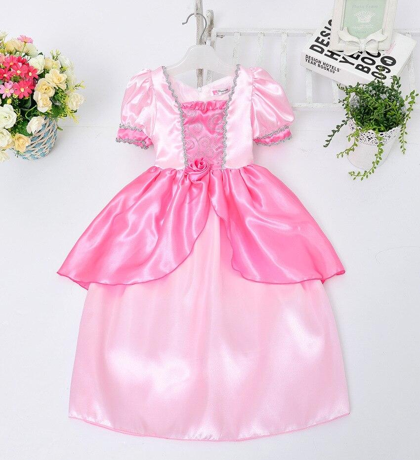 Toddler customs children s fancy dress for girls kids anna