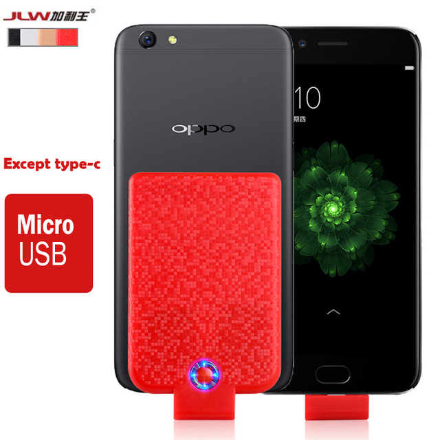 JLW 2500mAh Universal Micro USB Battery Case For Meizu M6 Note Pro 7 Smart Charger Cover For Meizu M5c M5 M3 Note Power Coque