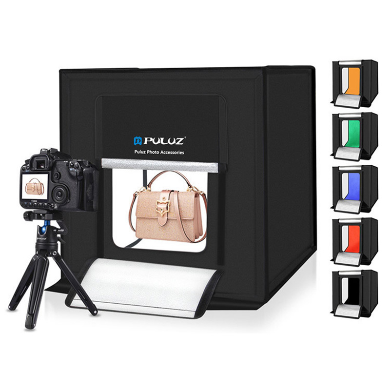 Photography LED Light Box Photo Box Studio Box Luces Led Light Soft Box Lighting Studio Shooting Tent Kit Studio Photo LightRoom|Photo Studio Accessories| |  - title=