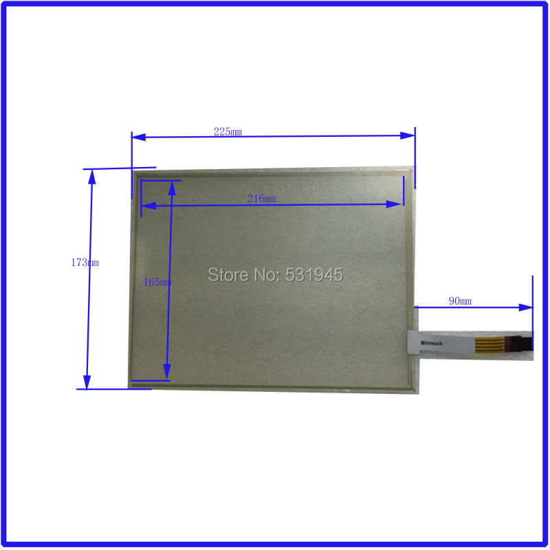 ZhiYuSun 10.4 inch TOUCH Screen panels 225mm*173mm for use commercial use 225*173 for 10.4-inch for industry applications new 10 4 inch 225mm 173mm touch screen panels for amt9509 industrial medical atm touch screen digitizer panel free shipping