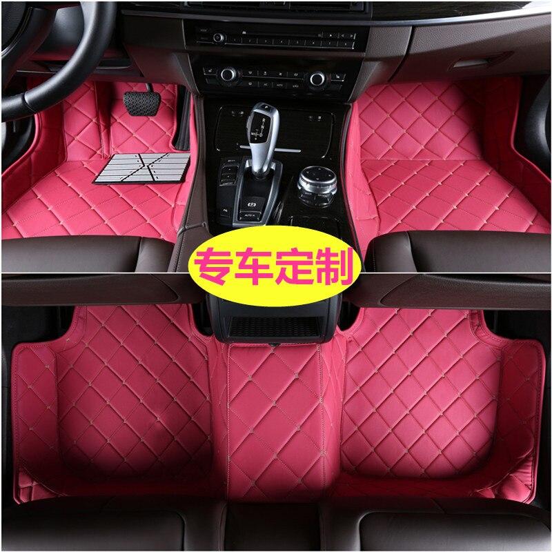 Dédié pas d'odeur antidérapant voiture Ottomans en gros entouré voiture tapis de sol pour Mini pad 118I importé Benz GLA200 220