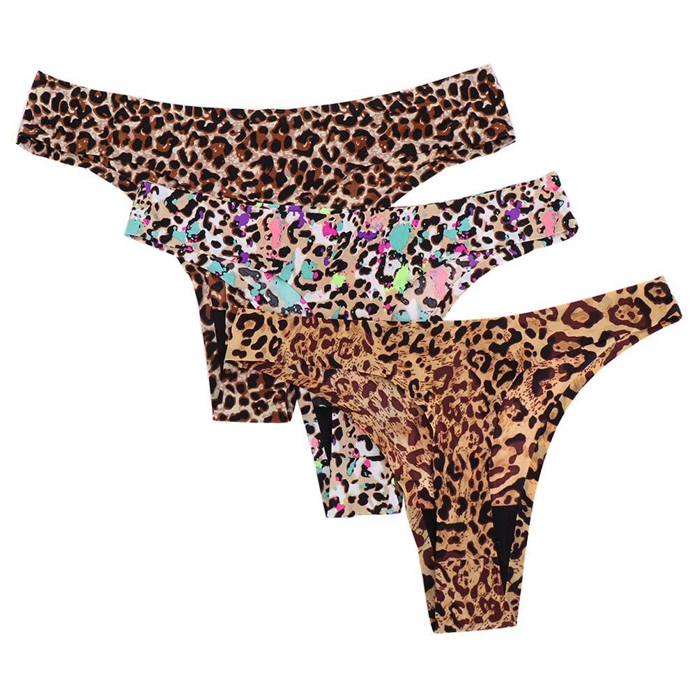 Fashion Leopard Women Panties Sexy Seamless Underwear Women Panties G-String Women's Briefs Lingerie Thong for Women