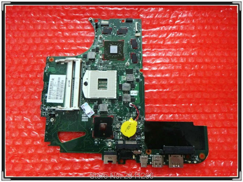 608364-001 FOR HP FOR ENVY 14 laptop motherboard HM55 NON-INTEGRATED ATI Mobility Radeon HD 5650 100% working Free Shipping