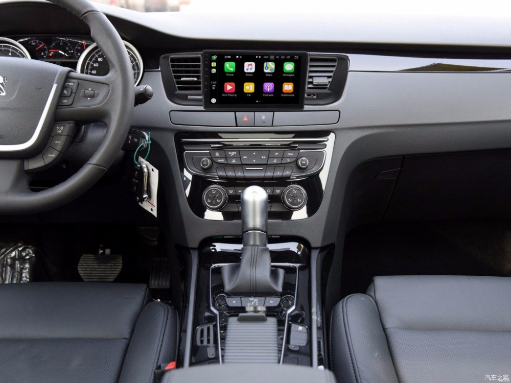 9 Android 8.0 1 din DVD Stéréo navigation gps Pour Peugeot 508 2011-2015 Tête Unité autoradio stéréo