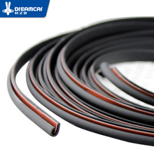 "8 M""U""Type car door rubber seal Sound Insulation sealing strip weatherstrip noise insulation car auto rubber seal Strips"