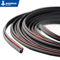 """8 Meter""""U""""type car sound insulation seal sealing rubber strip sealing Noise Weather Rubber car door seal Suitable for most model"""