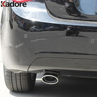 For Chevrolet Cruze 2009 2010 2011 2012 2013 Stainless Steel Exhaust Muffler Tip End Silencer Exterior Accessories Car Styling