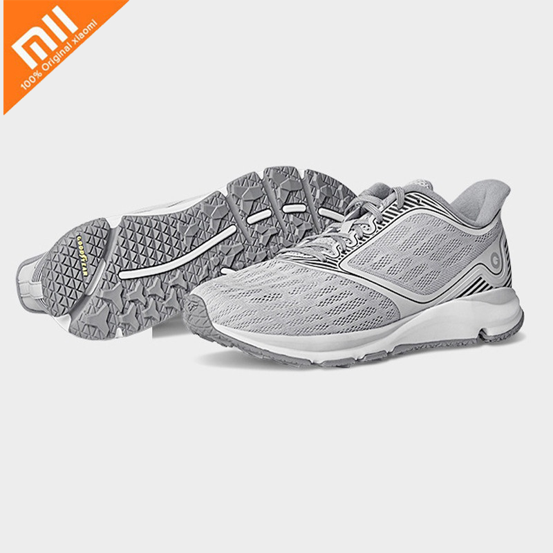 Xiaomi Mijia Amazfit Antelope Men's Running Outdoor sneakers for Women Smart Shoes sport Goodyear Rubbe zapatillas hombre Chip-in Smart Remote Control from Consumer Electronics    3
