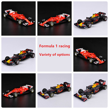 Bburago 1:43 F1 racing collection Simulation alloy super toy car model For  with Steering wheel control front wheel steering large aston martin v12 vantage car model 1 18 alloy diecast car model steering wheel linkage the two front wheel collection toys