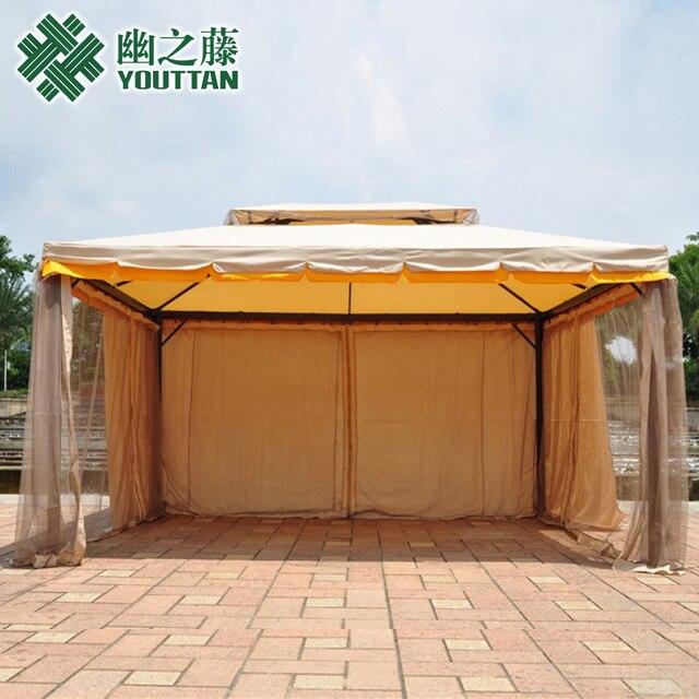 Large Outdoor Tent Umbrellas Patio Umbrella Folding Balcony Awning