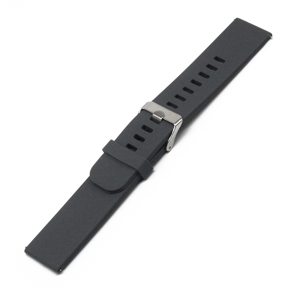 Silicone Rubber Watch Band 18mm 20mm for DW Daniel Wellington Stainless Steel Pin Clasp Strap Quick Release Loop Belt Bracelet