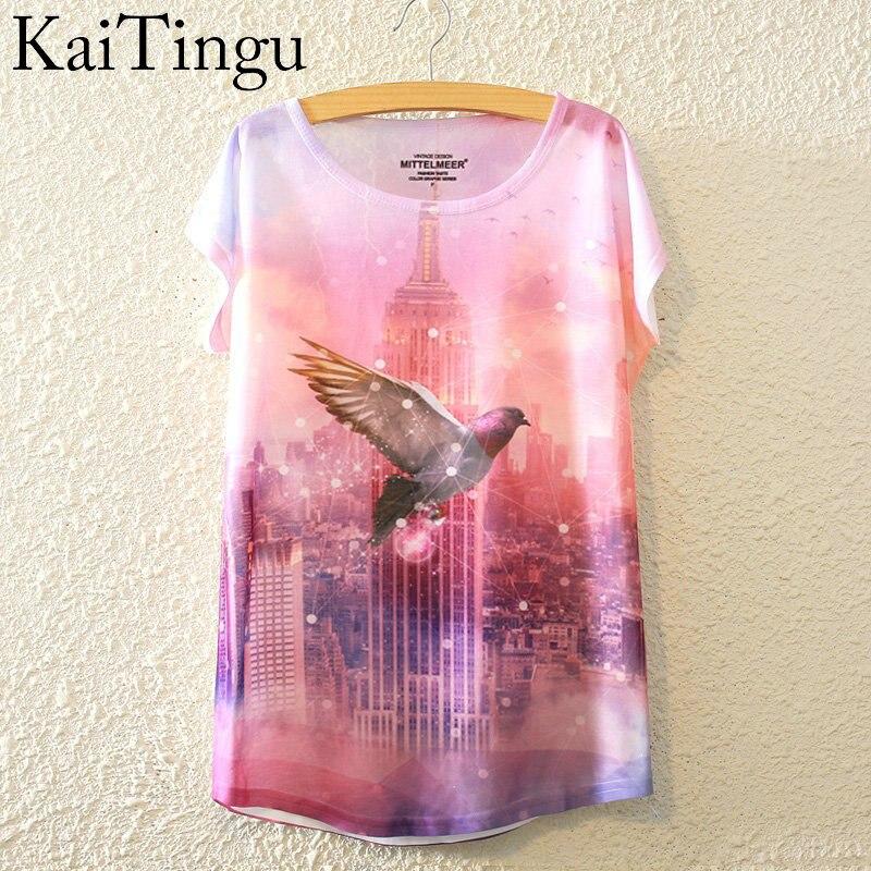 HTB1JxtwLpXXXXXFaXXXq6xXFXXXC - New Fashion Summer Animal Cat Print Shirt O-Neck Short Sleeve T Shirt