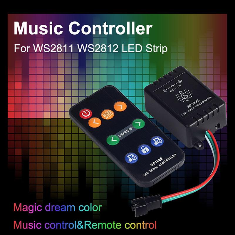 Atualizado 2019 Luzes LED Strip Kit 16.4ft