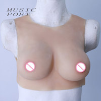 Music Poet False Breast Artificial Breasts Silicone Breast Forms Fake Boobs Realistic Silicone Breast Forms Hot
