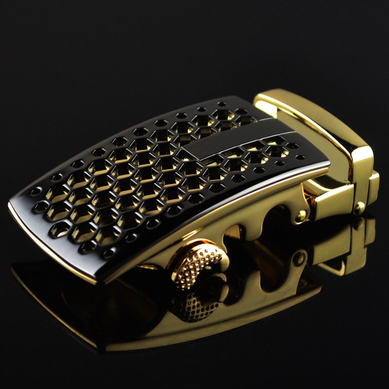 Men's Belt Head Buckle Leisure Belt Head Business Accessories Automatic Buckle Width Luxury Fashion Holographic Belts LY188236