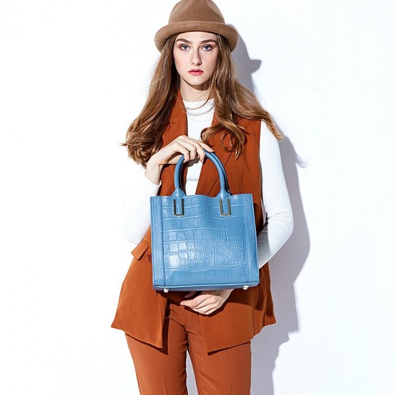 Original Vento Marea Genuine Leather Busibess Handbags Women Fashion Messenger Bags 2019 OL Ladies Luxury Shoulder
