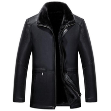 European and American Style Mens Faux Fur Leather Suede Mens Winter Fur Leather Velvet Coats New Male's Canadian Jackets C336