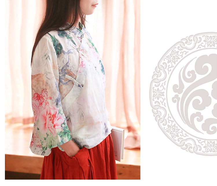 Blouse Chinese Traditional Tops 10